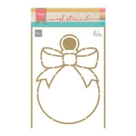PS8017 Marianne Design - Craft stencil - christmas baulb