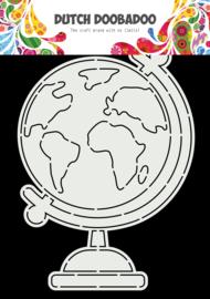470.784.026 Dutch Doobadoo Card Art Globe