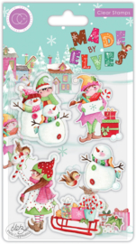 CCSTMP071 Craft Consortium Made by Elves Candy Clear Stamps