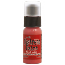 15TDD36357 Tim Holtz distress paint Fired Brick