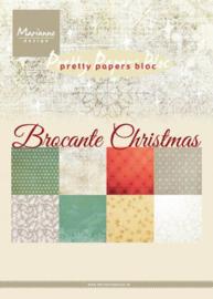 PK9171 Eline's paper bloc Christmas