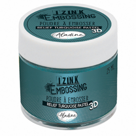 10220AL Aladine Embossing Powder Powder Pastel Turquoise