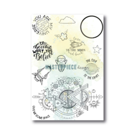 1012 Masterpiece Stempel You are my universe
