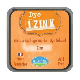 19252 Aladine Inkpad Izink Dye Orange Cire