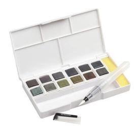 DGT2305790 Derwent Paint Pan Set - Graphitint