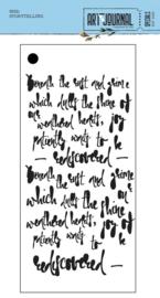 S032 ECD Mask Stencil Story Telling