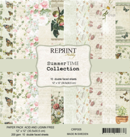 CRP005 Reprint 12x12 Inch Collection Pack Summer Time