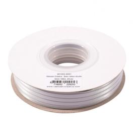 301002-5001 Vaessen Creative • Satijnlint dubbel 3 mm 100m Zilver