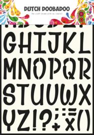 470.990.005 Dutch Stencil Art Alfabet 5