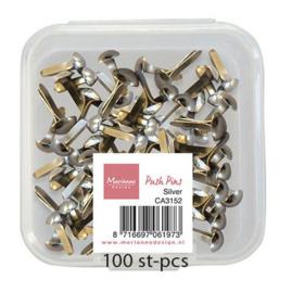 CA3152 Decoratie Push Pins - Zilver
