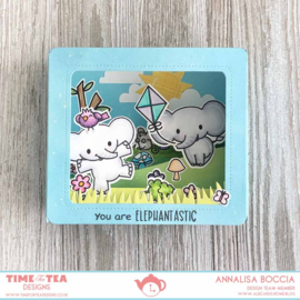T4T/146/Box/Die Time For Tea Box Clever Dies