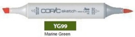 YG99 Copic Sketch Marker Marine Green