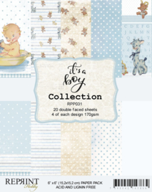 RPP031 Reprint  Collection 6x6 Inch Paper Pack  It´s a Boy