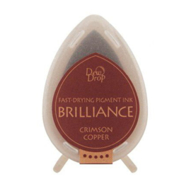 BD-000-097 Dew Drop Brillance Ink Pad Crimson Copper