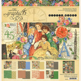 4501659 Graphic 45 Little Women  Collection Pack