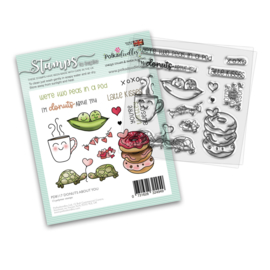 PD8117 Polkadoodles Donuts About You Clear Stamps