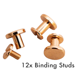 SL-PES-STUD04 Binding Studs Rose Planner Essentials 12st