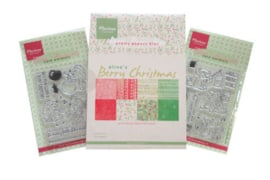 PA4118 Marianne Design  Berry Christmas