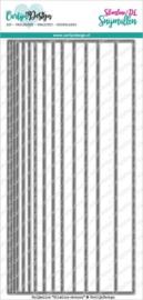 CDSN-0098 Snijmallen Slimline strepen