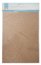 CA3145 Soft glitter paper Bronze