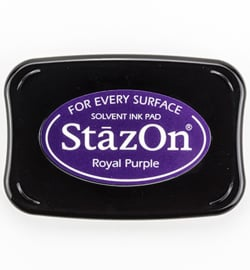 SZ-000-101 Stazon Ink Pad Royal Purple