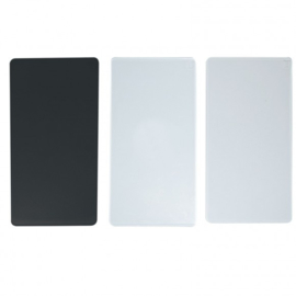 2137-045 Vaessen Creative Cut Easy replacement plates set x3