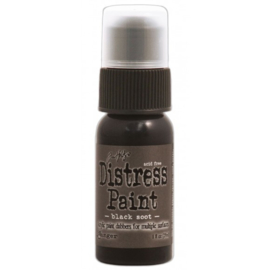 15TDD36302 Tim Holtz distress paint black soot