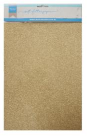 CA3143 Soft glitter paper Gold