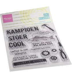 MM1647 Clear Stamp Kampioen