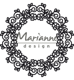 CR1470 Marianne Design Craftables Floral Doily