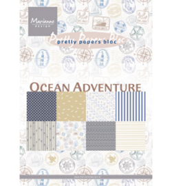 PK9162 Paperpack - Pretty Papers - Ocean Adventure