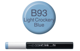 Copic inktflacon Copic inktflacon B93 Light Crockery Blue