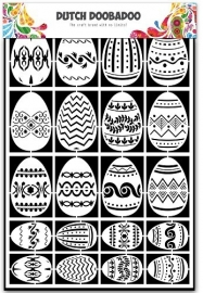 472.948.018 Laser Paper Art A5 Easter Eggs