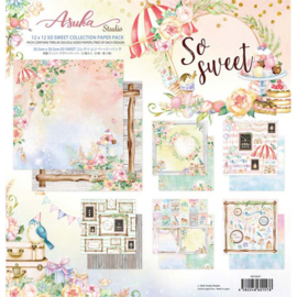 MP-60157 Memory Place So Sweet 12x12 Inch Paper Pack