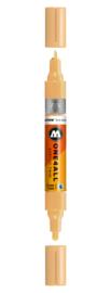 009 ONE4ALL Acrylic twin marker Sahara beige pastel