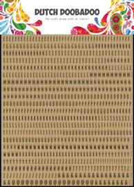 491.200.019 Sticker Art Alphabet