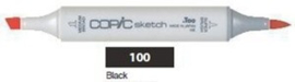 CS-100 Copic Sketch Marker Black