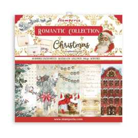 SBBL96 Stamperia Romantic Christmas 12x12 Inch Paper Pack
