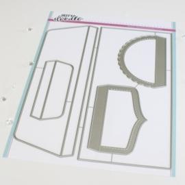 HFD0369 Heffy Doodle Slimline Envelope #10 Dies