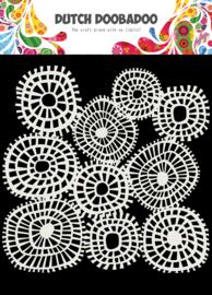 470.715.618 Mask Art Striped Circles