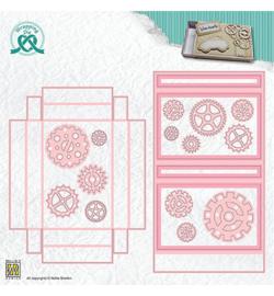 WPD010 - Magnetic Stencil colour set