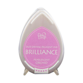 BD-000-034 Dew Drop Brillance Ink Pad Pearlscent Orchid