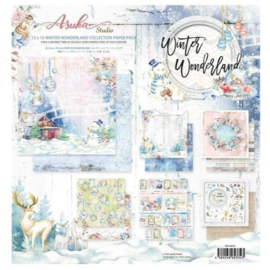 MP-60334 Memory Place Winter Wonderland 12x12 Inch Paper Pack
