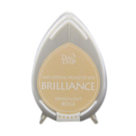 BD-000-055 Dew Drop Brillance Ink Pad Pearlescent beige