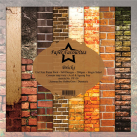 PF109 Dixi Craft Bricks 6x6 Inch Paper Pack