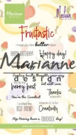 CS1031 Clearstamp Marleen's Fruitastic