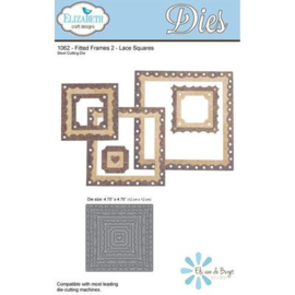 1062 Fitted Frames 2 Lace Squares