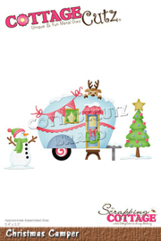 CC-800 Scrapping Cottage Christmas Camper