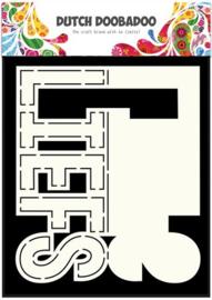 470.713.640 Dutch Doobadoo Card Art Text Liefs