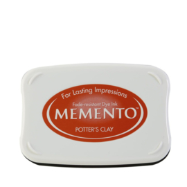 ME-000-801 Memento Ink Pad Potter's Clay